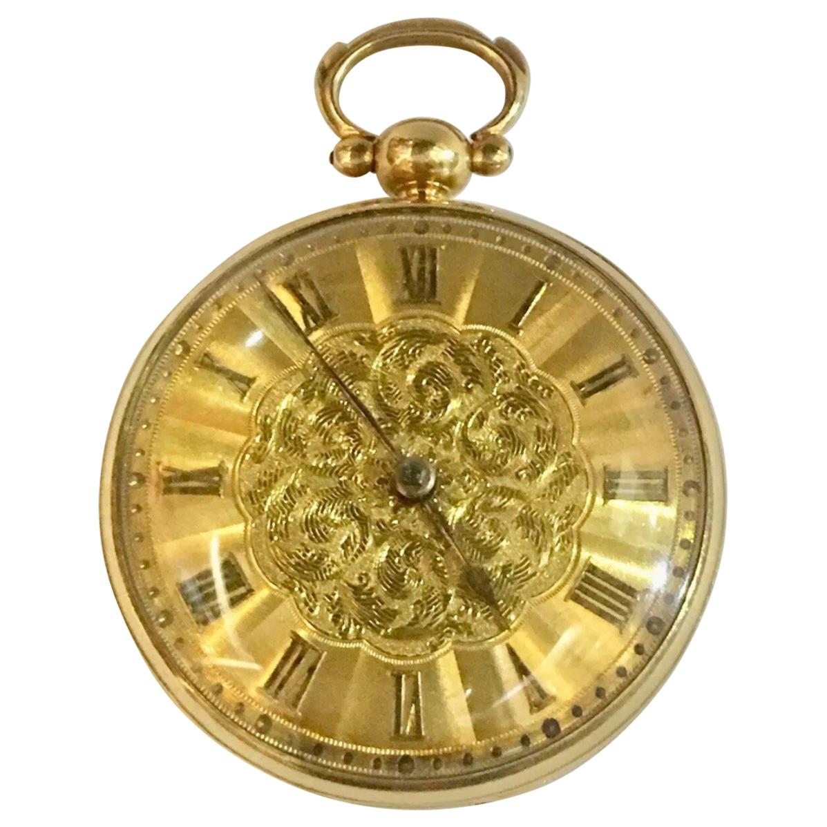 Antique 18k Gold Pocket Watches - 141 For Sale at 1stdibs