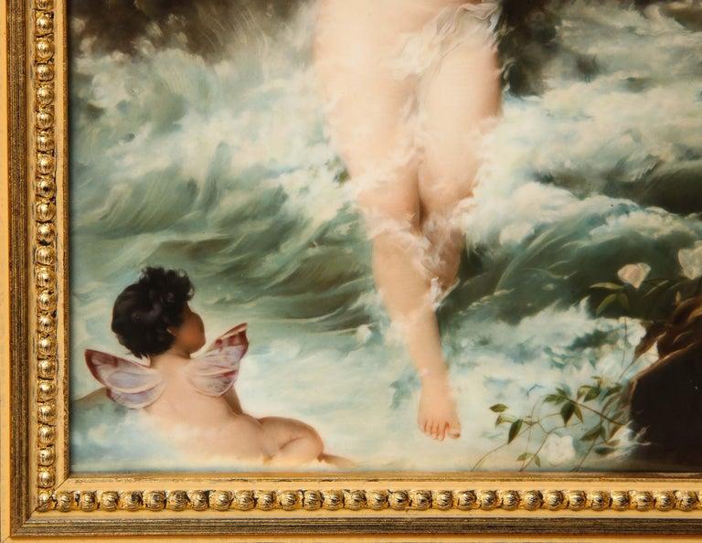 19th Century Exceptional Quality Berlin KPM Porcelain Plaque