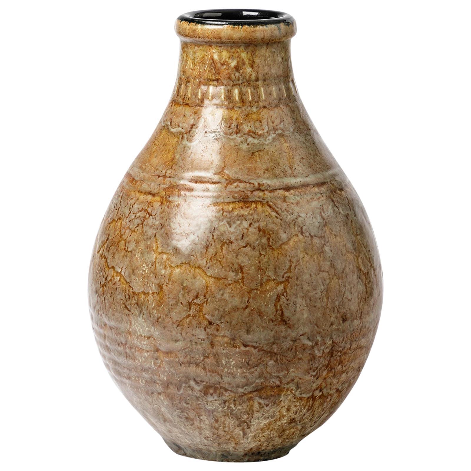 Exceptional Ceramic Vase by Émile Decoeur, circa 1927