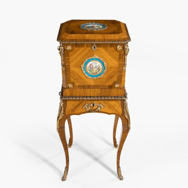 French Exquisite Jewel Casket in the Louis XV Manner For Sale