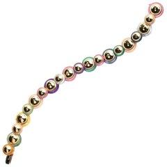 Exquisite Marina B Disc Bracelet