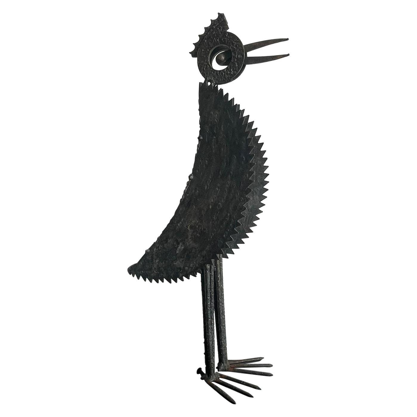 Iron Bird Sculpture
