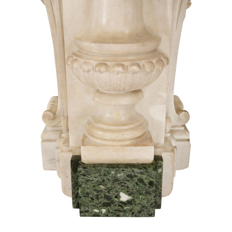 Italian 18th Century Baroque Period Marble Fountain For Sale 6