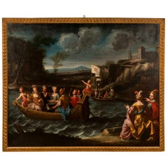 Italian 18th Century Oil on Canvas from the Piedmont Region