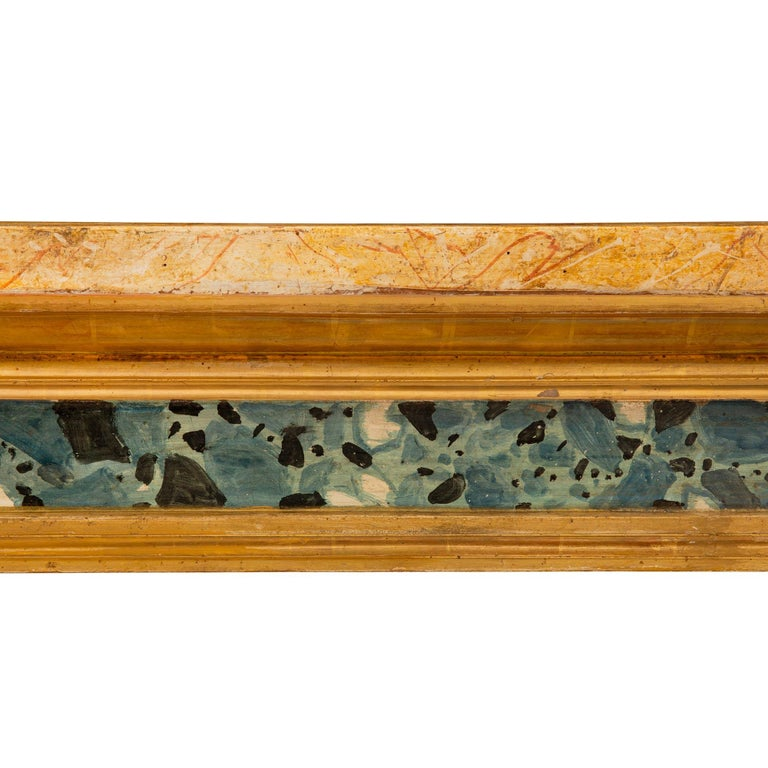 Italian 19th Century Neoclassical Style Painted and Giltwood Console For Sale 2