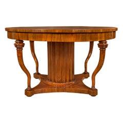 Italian Mid-18th Century Tuscan Walnut Center Table