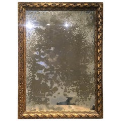 Italian Carved Gilt-wood  Neoclassical Style Mirror