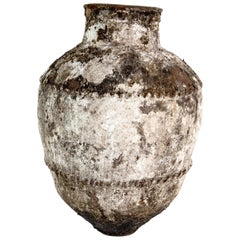 Large Scale Ottoman Oil Jar of Great Character and Patina, Late 19th Century