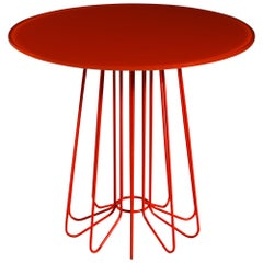 Orange Smallwire Table by Arik Levy for Zanotta, Stamped