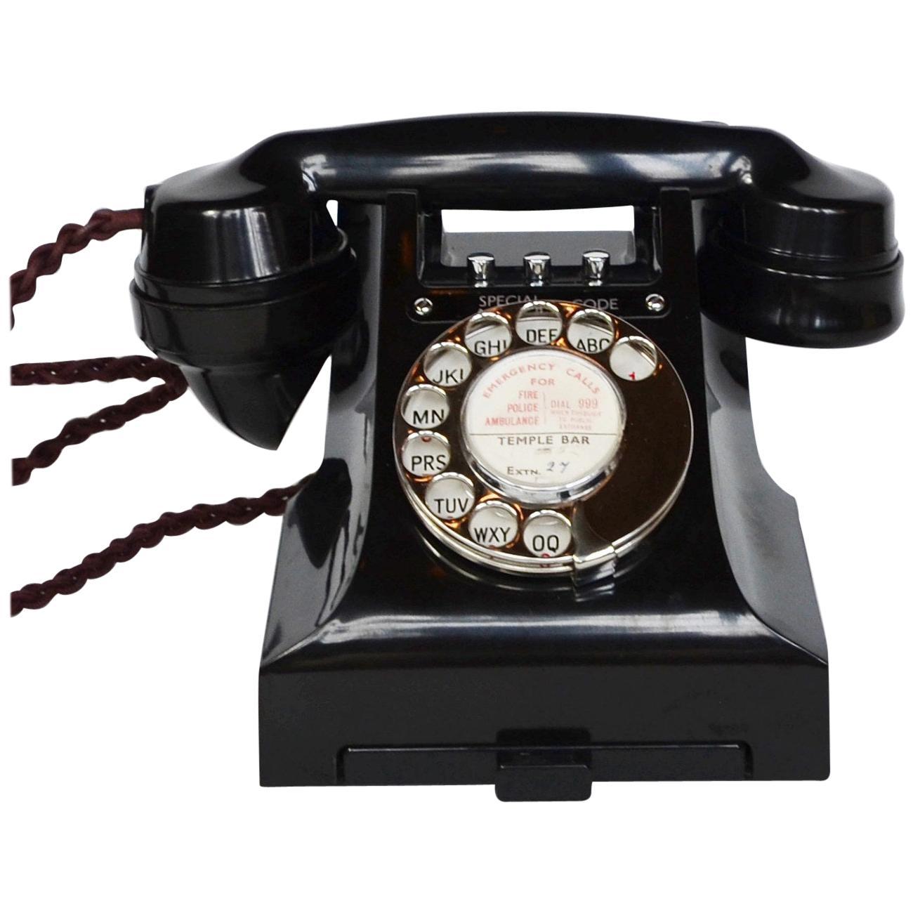 Original 1951 GPO Model 332L Telephone Full Working Order