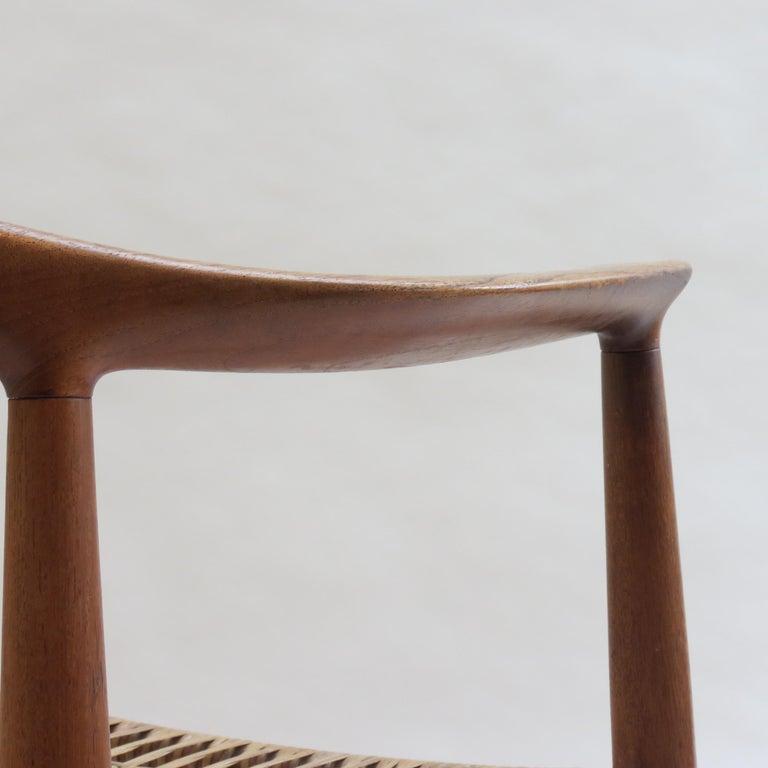 Original Early Version of the Chair by Hans J Wegner Johannes Hansen JH 501 For Sale 3