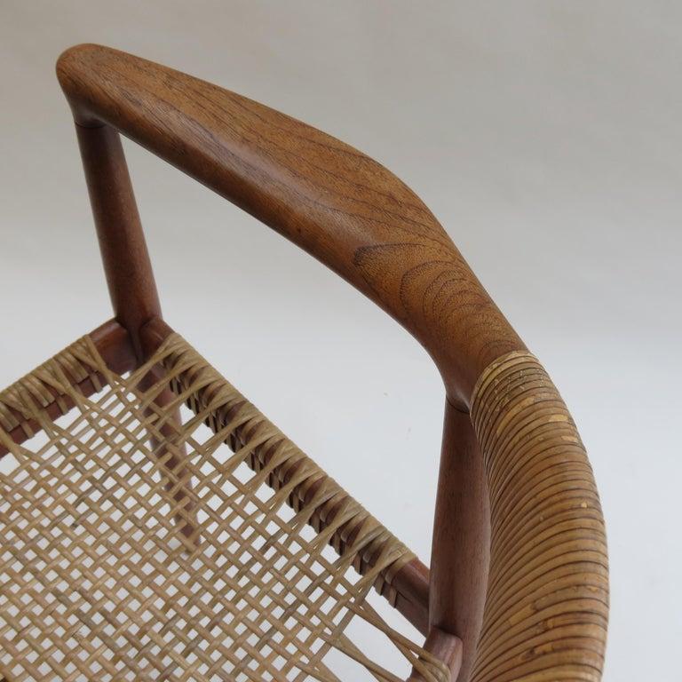 Original Early Version of the Chair by Hans J Wegner Johannes Hansen JH 501 For Sale 4