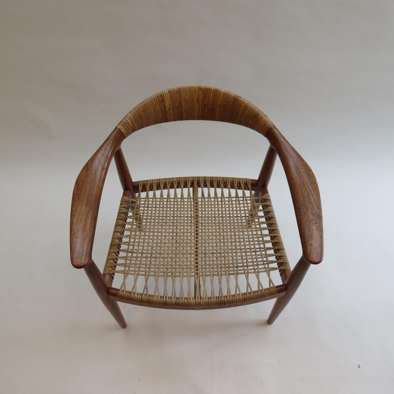 Mid-Century Modern Original Early Version of the Chair by Hans J Wegner Johannes Hansen JH 501 For Sale