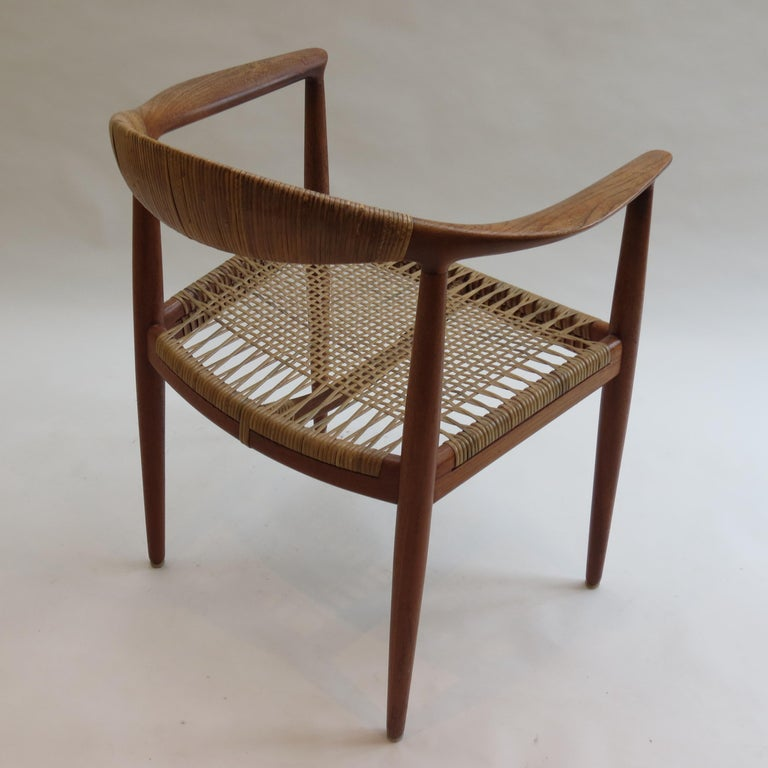 Hand-Crafted Original Early Version of the Chair by Hans J Wegner Johannes Hansen JH 501 For Sale