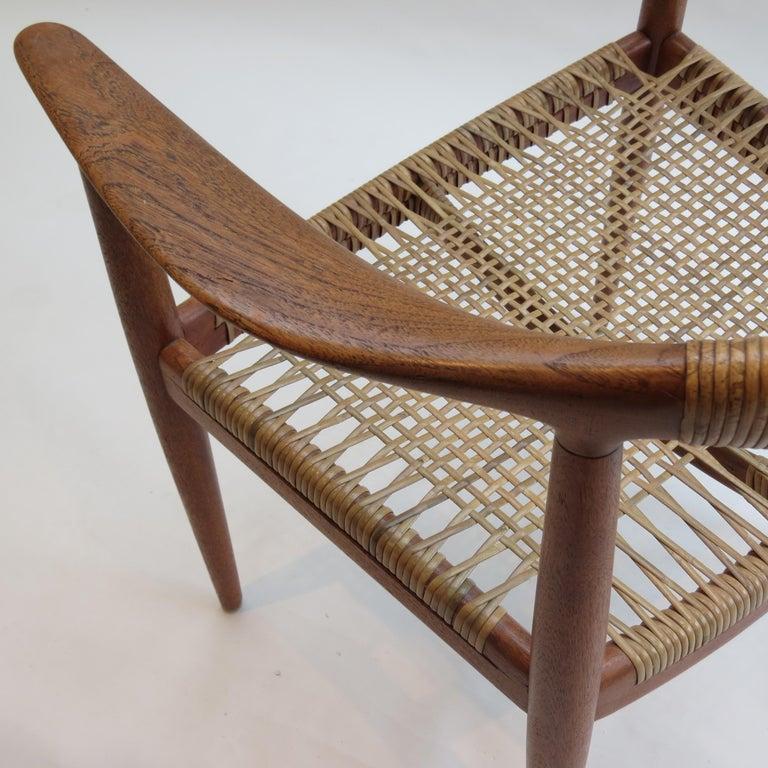 20th Century Original Early Version of the Chair by Hans J Wegner Johannes Hansen JH 501 For Sale