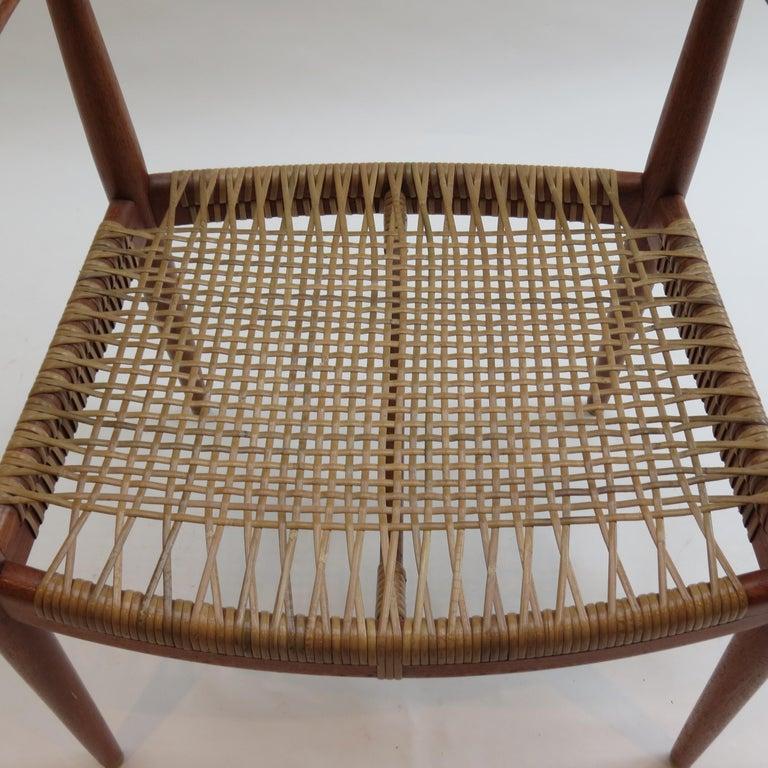 Original Early Version of the Chair by Hans J Wegner Johannes Hansen JH 501 For Sale 1