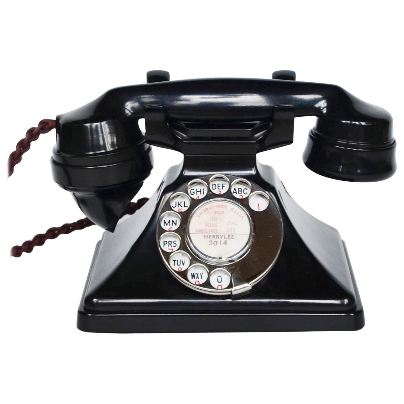 Original GPO Model 162L Telephone Full Working Order