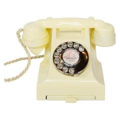 Original GPO Model 332L Ivory Bakelite Telephone Full Working Order