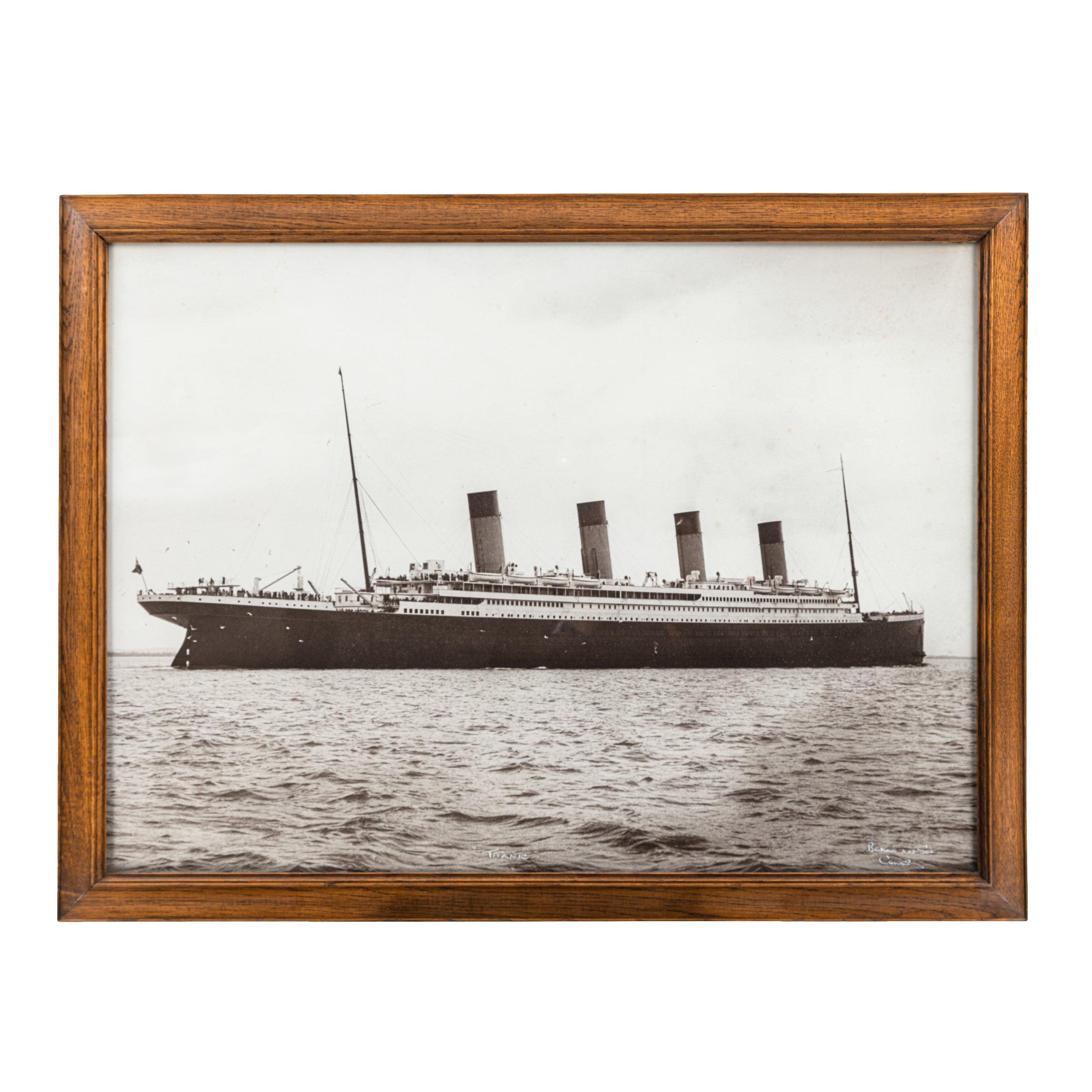 Original Photograph of R.M.S. Titanic by Beken of Cowes