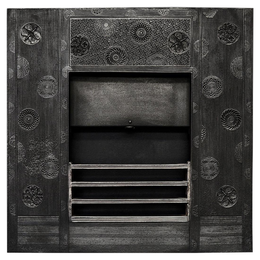 Unusual Cast Iron Insert by Thomas Jeckyll