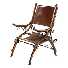 Unusual Early 20th Century Chair Made from Horse Hames