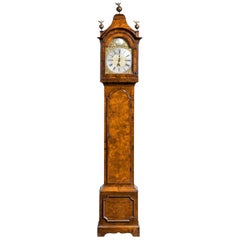 An Unusual, George III Period, Longcase Clock in Walnut Engraved William Harris