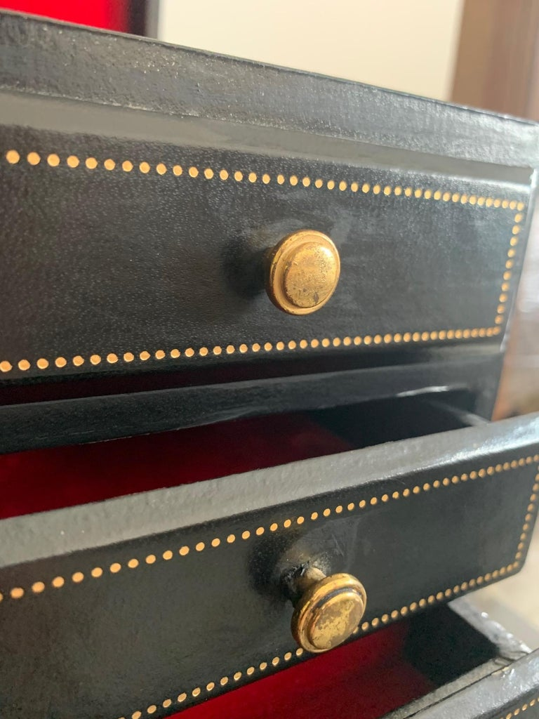 Unusual Miniature Chest or Jewelry Box For Sale 3