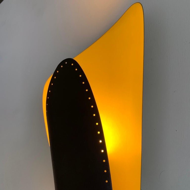 Mid-20th Century Unusual Sconce, Germany, 1950s For Sale