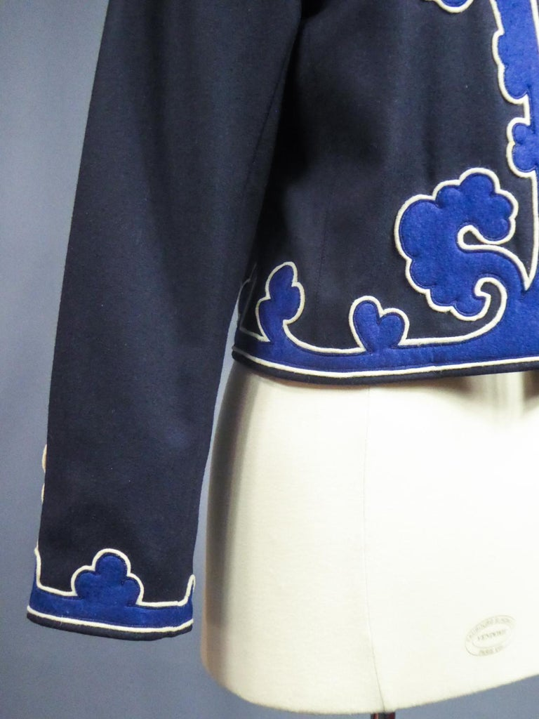 An Yves Saint Laurent Rive Gauche Bolero Collection Tribute to Picasso 1979 For Sale 5