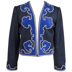An Yves Saint Laurent Rive Gauche Bolero Collection Tribute to Picasso 1979