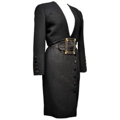 An Yves saint Laurent Rive Gauche Skirt suit Circa 1988/1992