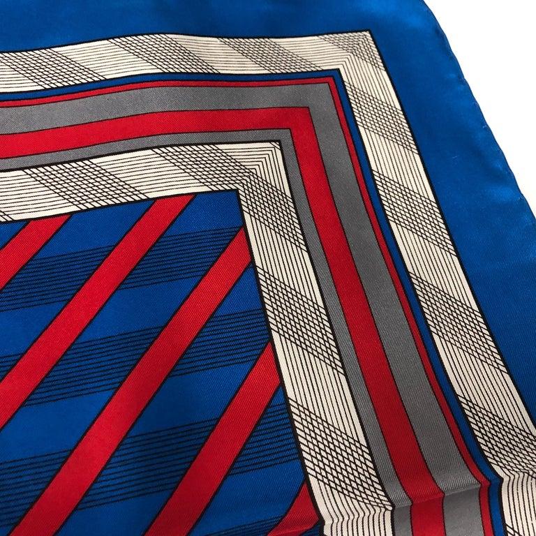 Women's An Yves Saint Laurent Vintage Silk Foulard circa 1980 For Sale