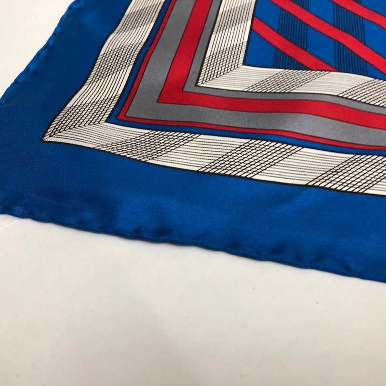 An Yves Saint Laurent Vintage Silk Foulard circa 1980 For Sale 3