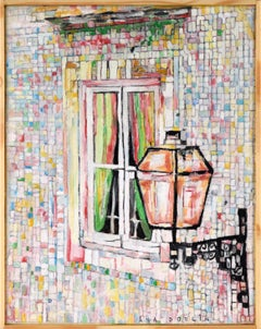 Portuguese Lamp and Window