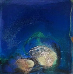 Cenote, Painting, Acrylic on Wood Panel