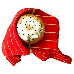 "Ana Hernandez ""Xhigagueta Yachii"" Gourd with 24-Karat Gold Leaf"