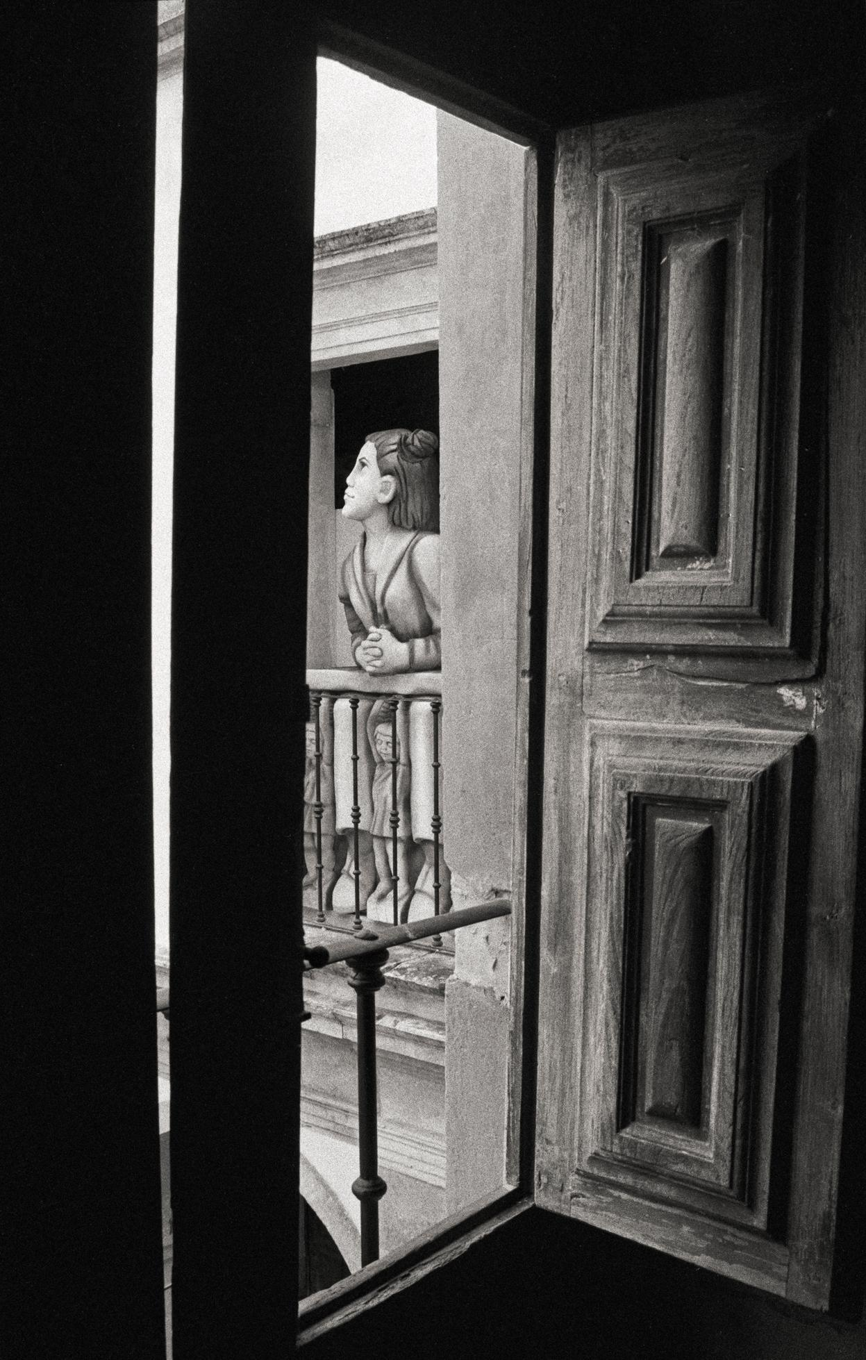 """""""Beauty at the Window"""" Black & White Photography Signed, Gelatin Silver Print"""