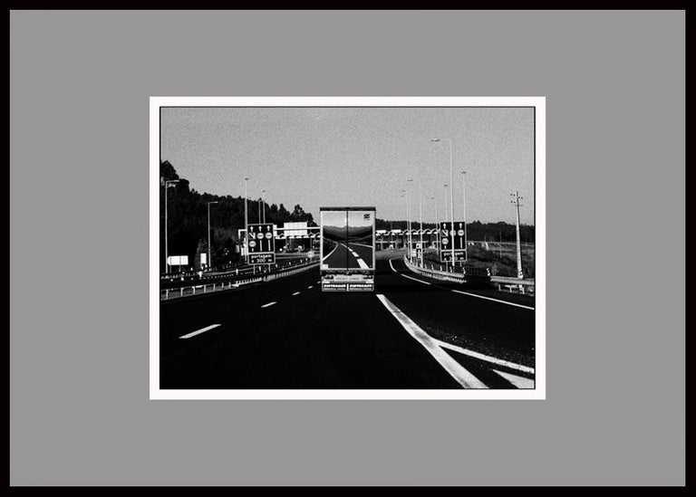 Highway, Portugal 2003 /Gelatin Silver Print/ Signed - Contemporary Photograph by Ana Maria Cortesão