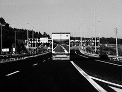 Highway, Portugal 2003 /Gelatin Silver Print/ Signed