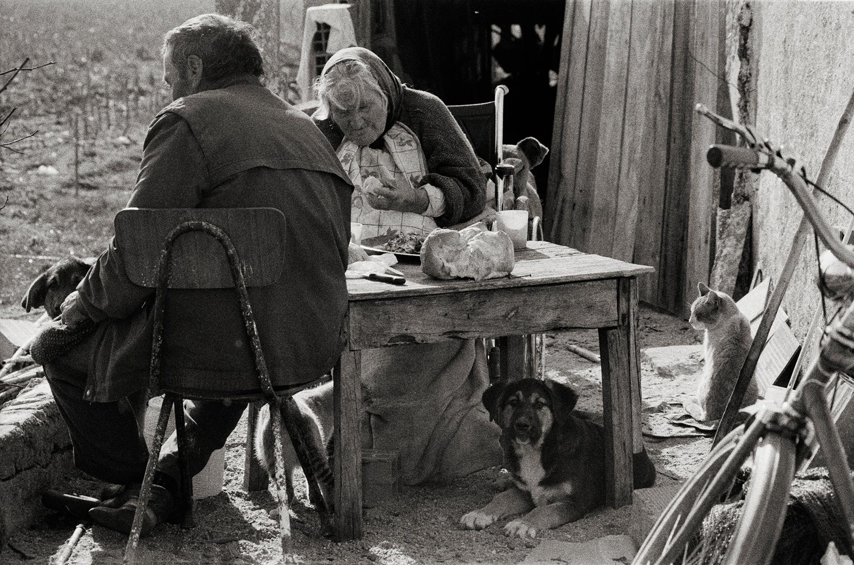 The Family - Portugal 2000 - Gelatin Silver Print - Signed
