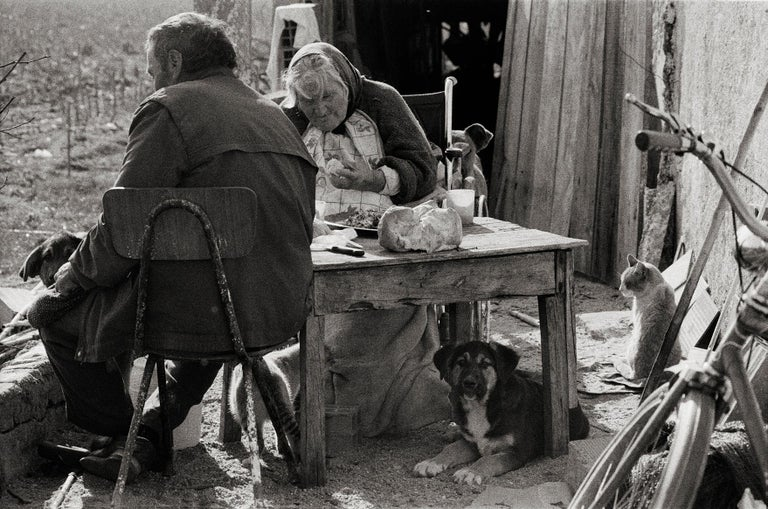 Ana Maria Cortesão Black and White Photograph - The Family - Portugal 2000 - Gelatin Silver Print - Signed