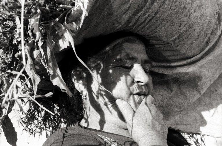 The Peasant - Portugal 2001 - Gelatin Silver Print - Signed - Contemporary Photograph by Ana Maria Cortesão