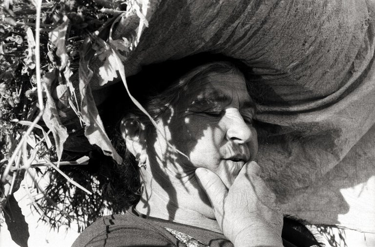 Ana Maria Cortesão Black and White Photograph - The Peasant - Portugal 2001 - Gelatin Silver Print - Signed