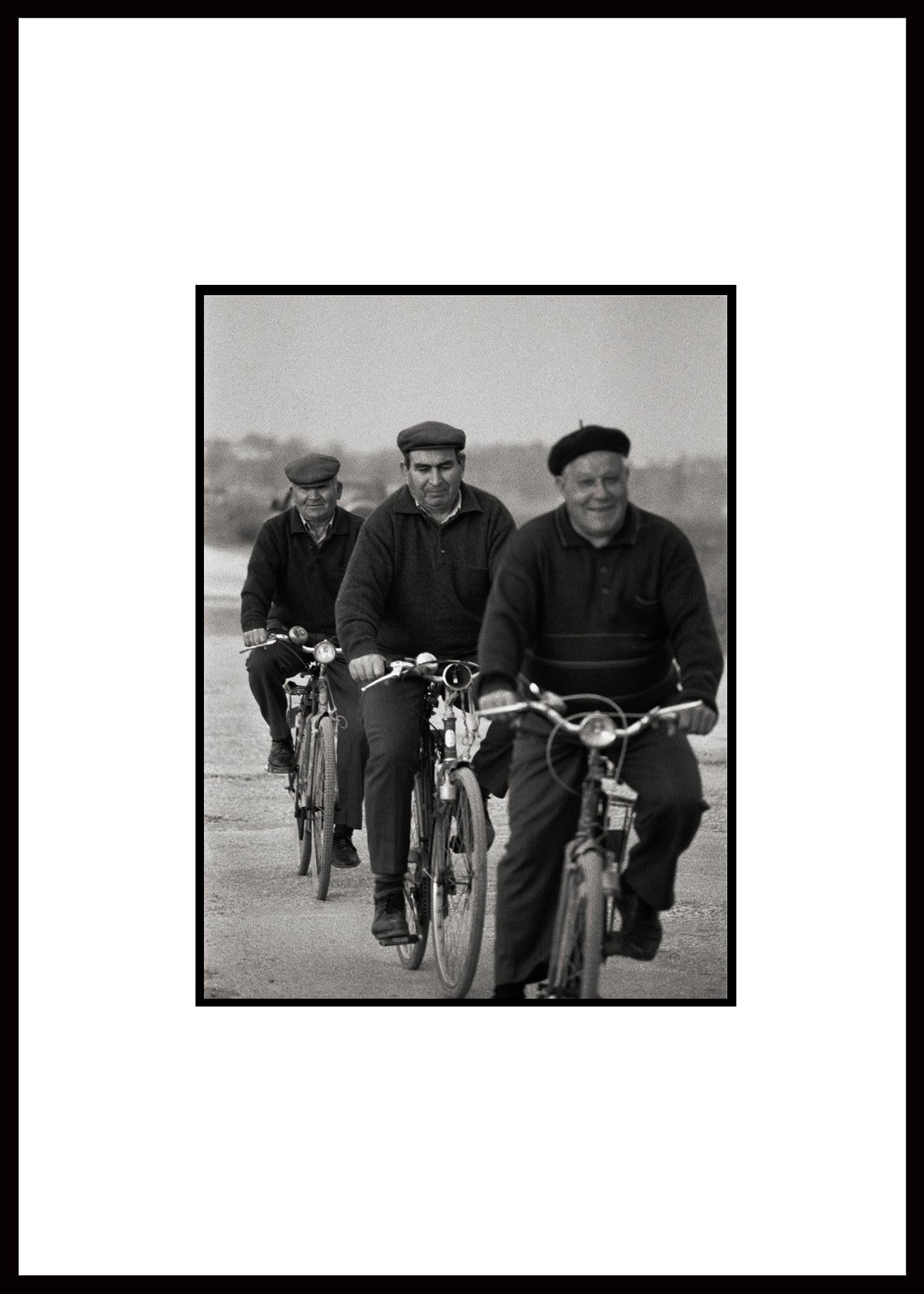"""""""Three of a Kind"""" Black & White Photography Gelatin Silver Print Portugal 2000"""