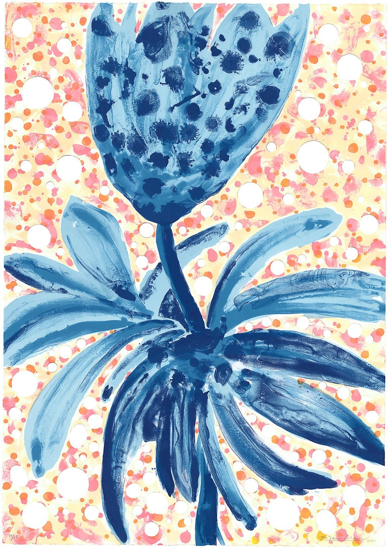 Ana Maria Hernando Landscape Print - Flores Hechas de Cielo / Flowers Made out of Sky #1