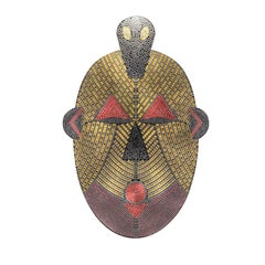 Anaconda Tilla in Wonderland Mask
