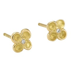 Diamonds 18 Karat Yellow Gold Earrings