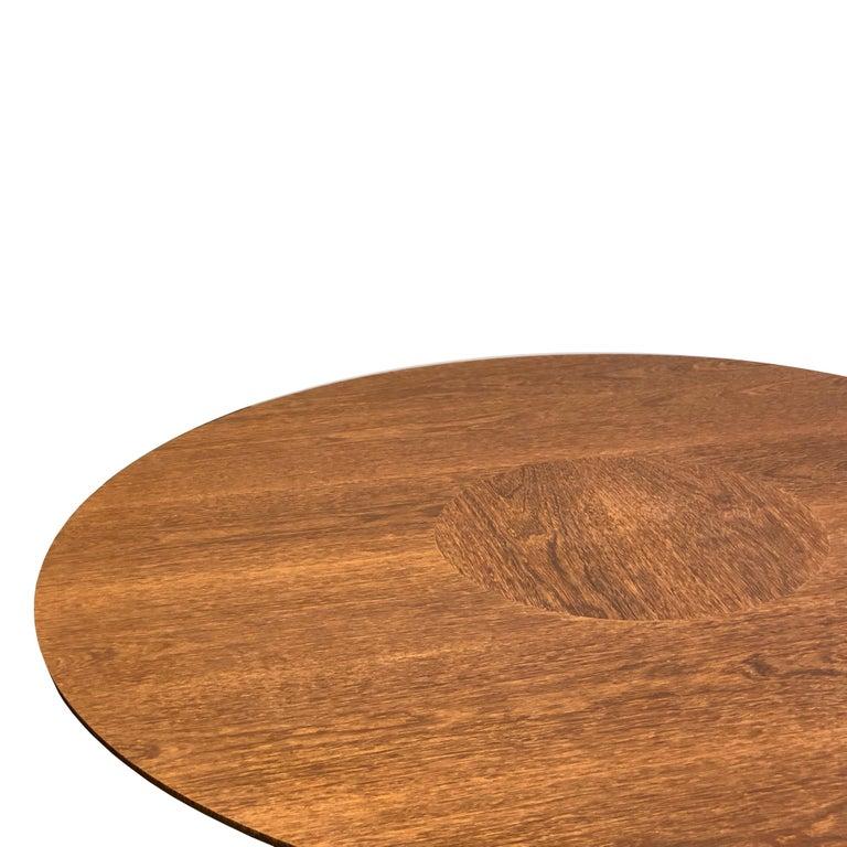 Woodwork Anambé Brazilian Unique Rare Wood Dining Table For Sale