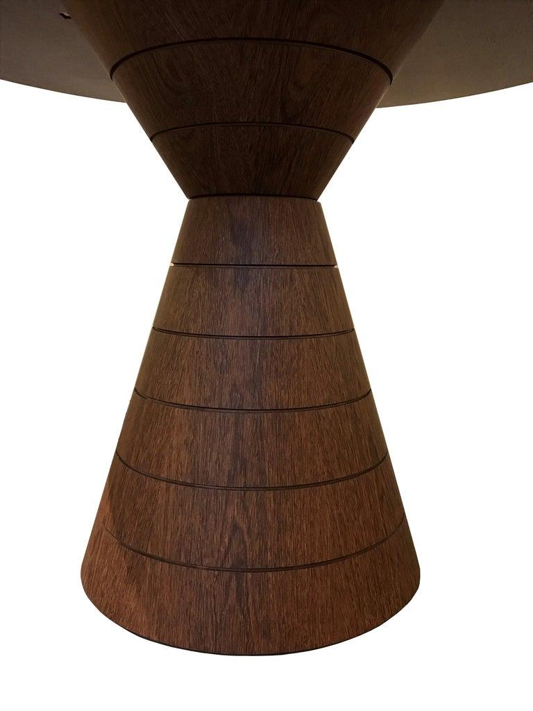 Anambé Brazilian Unique Rare Wood Dining Table For Sale 1