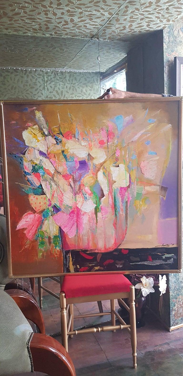 Allegro Con Brio - Painting by Anastas Kamburov